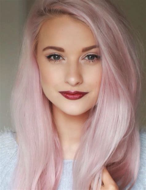 Want My Hair This Color Pastel Pink My Hair Is White