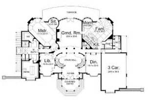 chateau floor plans home ideas chateau house plans
