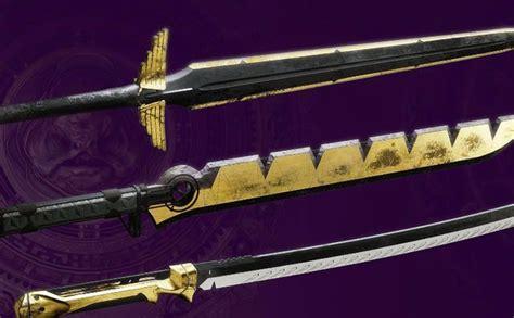 destiny swords pvp gambit pve weapon season twinfinite