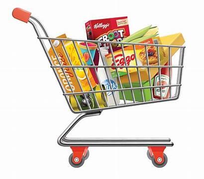 Shopping Cart Clipart Groceries Supermarket Clip Computer
