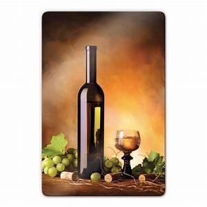 Tableau En Verre : tableau en verre vin blanc wall ~ Melissatoandfro.com Idées de Décoration