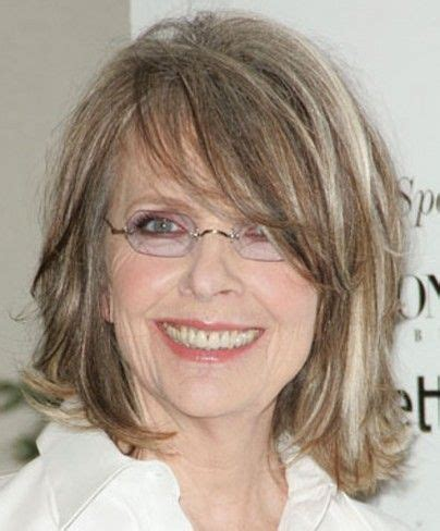Hairstyles For 50s With Glasses by Medium Hairstyles With Bangs And Glasses For 50