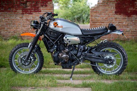 T You Later. Hageman Motorcycles' 'tt500' Yamaha Xsr700