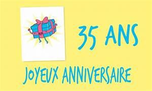 Cadeau Homme 35 Ans : carte anniversaire humour 35 ans cadeau drole ~ Nature-et-papiers.com Idées de Décoration