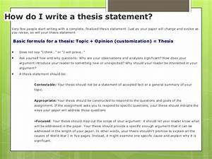 film analysis thesis statement examples