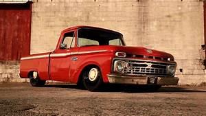 U0026quot Turpentine U0026quot  Supercharged Turbo 1966 Ford F100 Slammed Air
