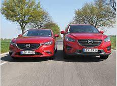 Mazda 6 gegen CX5 Kombi oder SUV? autozeitungde