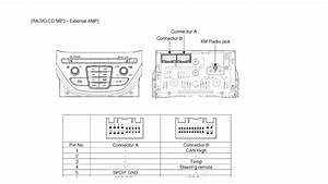 Hyundai Car Radio Stereo Audio Wiring Diagram Autoradio