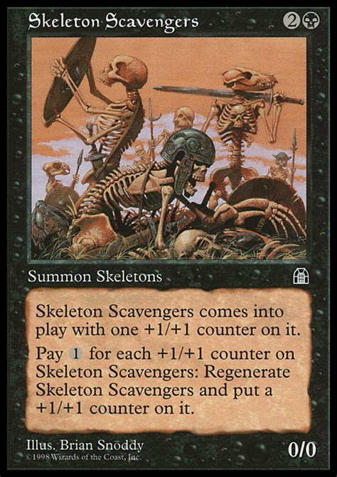 mtg reassembling skeleton deck proxies for deck quot spooky quot deckstats net