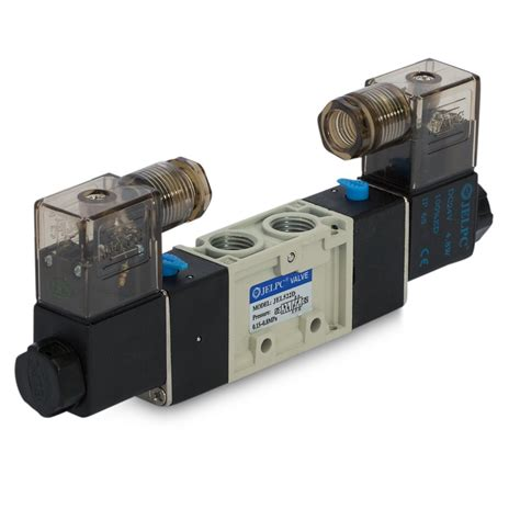 Jelv522d 52 Double Solenoid Valve In Line And Manifold