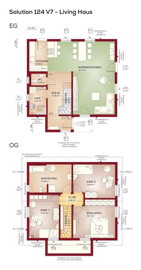 Grundrisse Efh Ohne Keller by Einfamilienhaus Mit Satteldach Grundriss Quadratisch Ohne
