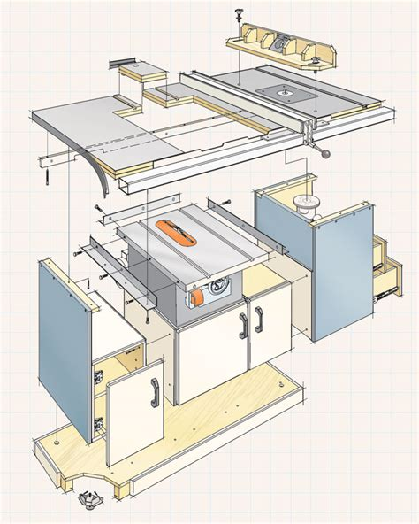table  workcenter woodworking project woodsmith plans