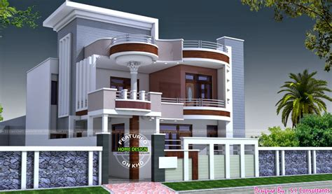 Home Design Consultant : Glamorous Houses Designs By S I Consultants Home Design