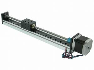 300mm Linear Guide Rail Assembly With Stepmotor