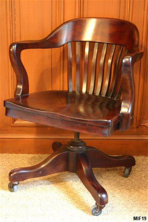 fauteuil de bureau americain fauteuil de bureau de type am 233 ricain origine usa vers 1930