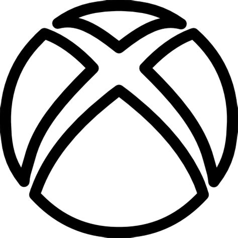 xbox social outline logo  social icons