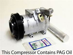 A  C Compressor Kit Honda Accord 2003-2007 V6 2 Door Coupe 3 0l