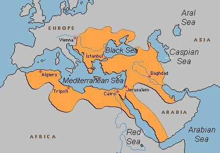 Who Were The Ottomans by Ottoman Empire Map Timeline Greatest Extent Facts