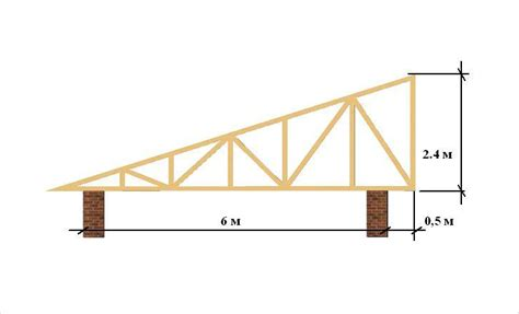 Slant Roof Shed Construction by How To Build A Slanted Shed Roof Without A Lot Of Effort