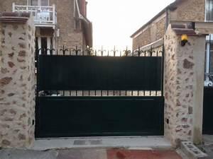 Comment Poser Un Portail : comment repeindre un portail en fer forg ~ Premium-room.com Idées de Décoration