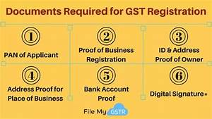 what documents will i need for gst registration updated With documents required property registration