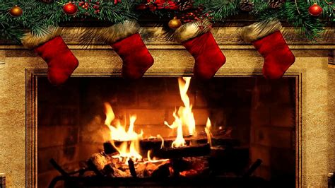 Animated Yule Log Wallpaper - fireplace wallpaper 57 images