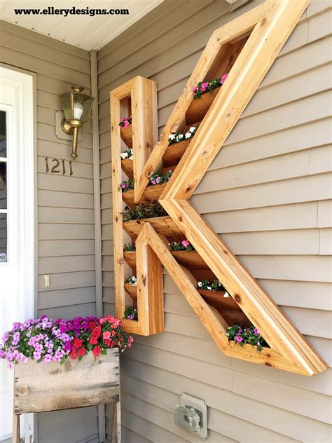 diy pallet  wood planter box ideas  designs