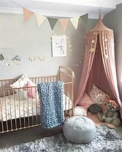 1001 idees pour chambre rose et gris les nouvelles With tapis chambre bébé avec guirlande de fleurs lumineuse