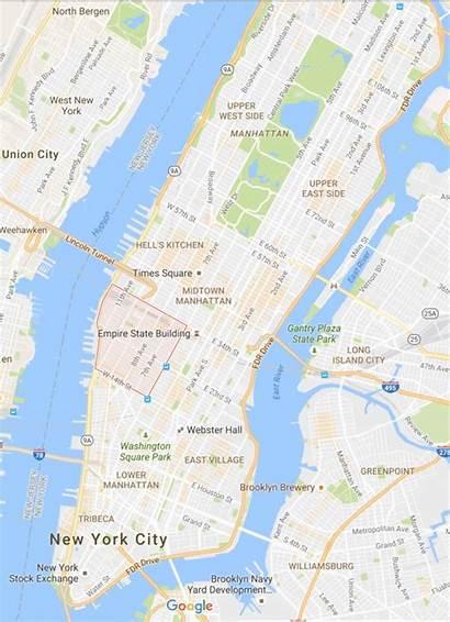 York Bezienswaardigheden Plattegrond Manhattan Bezoeken Shoppen