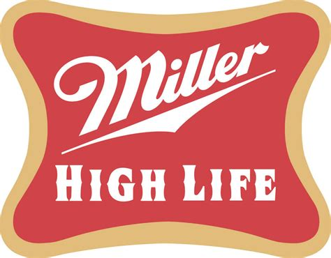 miller high life sticker decal  sizes beer
