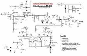 Classic Tube Screamer Ts-808 Schematic