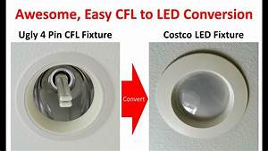 Superior Method For 4 Pin    G24 Socket Cfl To Led