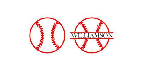 baseball monogram svg baseball split   svg baseball laces svg baseball love dxf