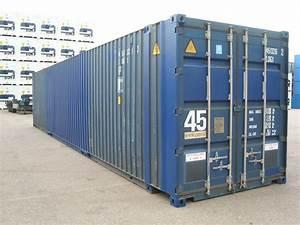 45 Fuß Container : 45 fuss high cube see lagercontainer gebraucht ~ Whattoseeinmadrid.com Haus und Dekorationen