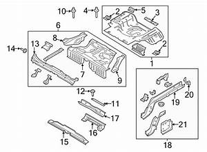 Ford Mustang Floor Pan Reinforcement  Convertible  Coupe