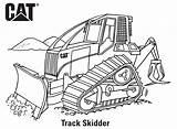 Coloring Caterpillar Skidder Track Printables sketch template