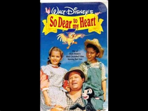Closing To So Dear To My Heart 1992 Vhs Youtube