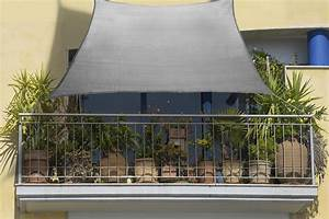 Sonnensegel Kleinen Balkon : balkon sonnensegel 270 x 140cm grau aus schattierungsgewebe hdpe sonnensegel wind und ~ Markanthonyermac.com Haus und Dekorationen