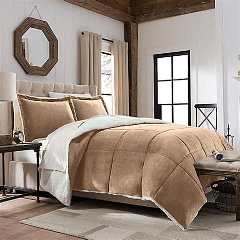 bed bath beyond comforters so soft plush velvet berber reversible comforter set
