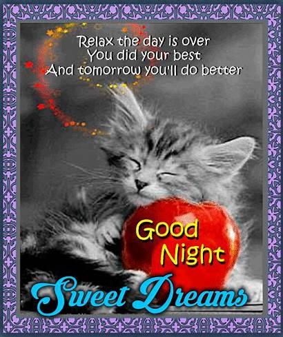 Night Tomorrow Better Ll Goodnight Inspirational Greetings