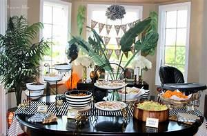 Welcome to the Jungle - safari jungle birthday party