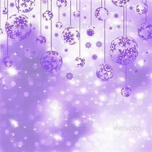Elegant Purple Christmas Background by beholdereye2501 ...