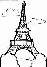 Buildings Building Famous Coloring Pages Printable Print Books sketch template