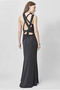 long one shoulder dress c39est ma robe With robe noire longue manche longue