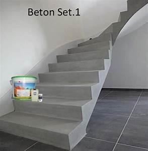 Beton Cire Treppe : beton cir treppe betostuc set beton cire auf kalk zement basis f r b den und w nde unser ~ Indierocktalk.com Haus und Dekorationen