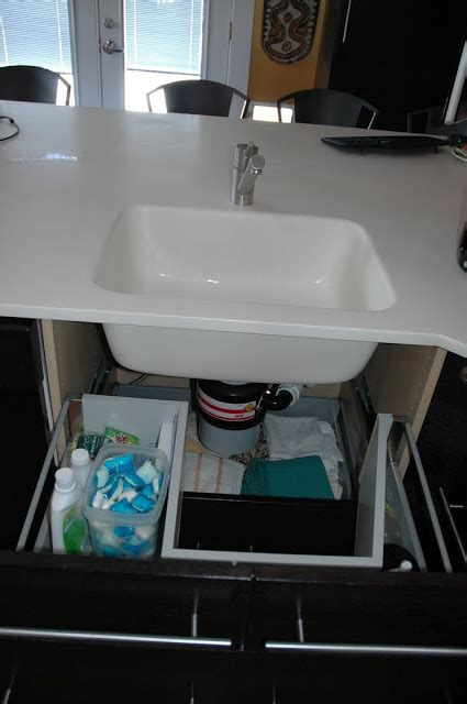 sink base  functional drawers ikea hackers ikea