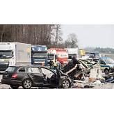 Unfall auf der Autobahn A1: Drei Tote nach Crash zwischen ...