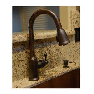 kitchen faucets copper premier copper single handle kitchen faucet with pull out