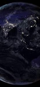 壁纸 地球,光,黑色背景,太空 5120x2880 UHD 5K 高清壁纸, 图片, 照片