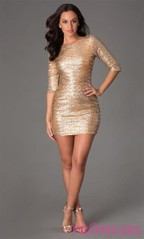 short gold sequin dress  ruby rox sequin dress sequin